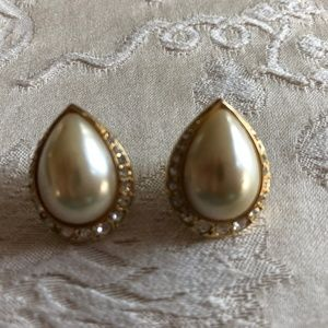 Faux Mabe pearls